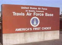Click image to view information on Travis Air Force Base.